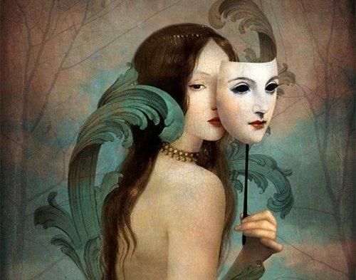 as pessoas e suas mascaras