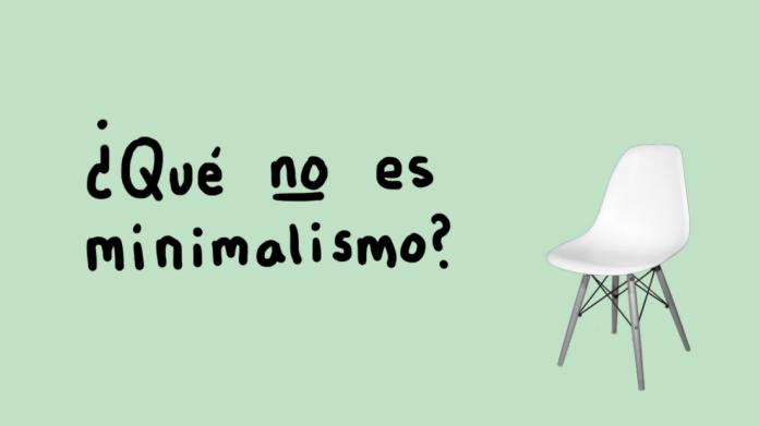 que no es minimalismo