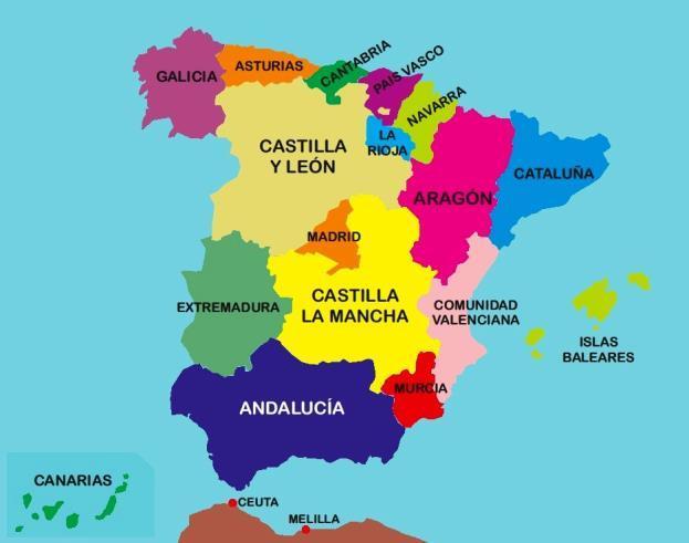 comunidades autonomas espanha