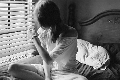 mujer ventana